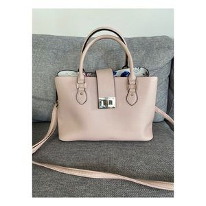 Kelly and Katie Light Pink Tote